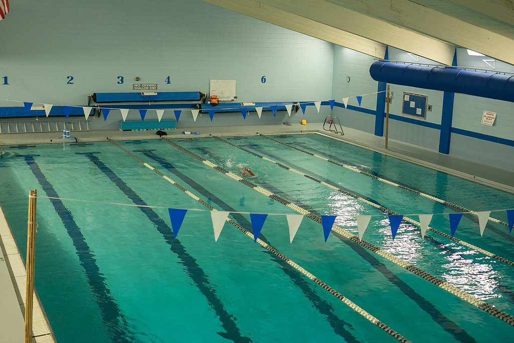 Our 6 lane competitive swimming pool in Laconia NH